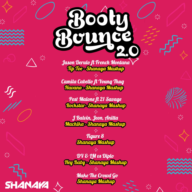 Shanaya - Booty Bounce 2.0 Tracklist